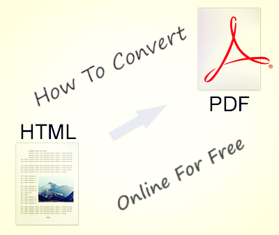 How To Convert HTML To PDF Online For Free & Save To Google Drive