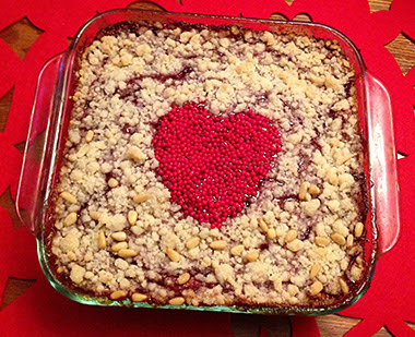 Raspberry Cream Cheese Crumb Cake Recipe