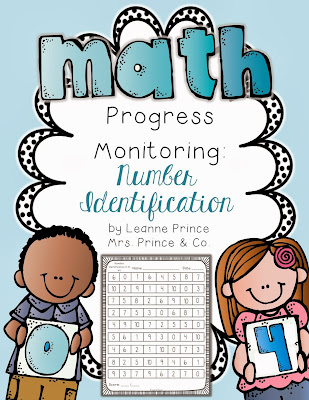 http://www.teacherspayteachers.com/Product/Number-Identification-Fluency-Practice-Pages-483448