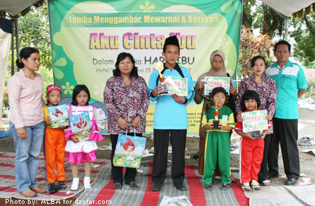 Pemenang Lomba Mewarnai