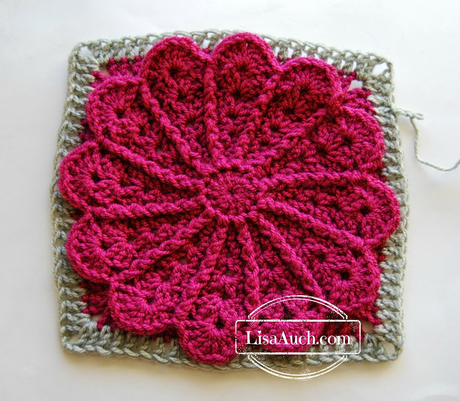 Free Crochet Patterns 8 Inch Squares