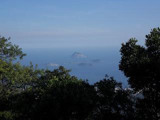Ilhas em frente a Ipanema