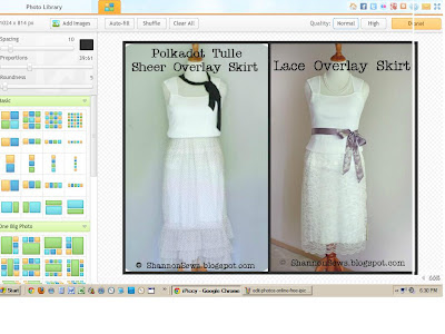 Create a variety of photo layouts with iPiccy's online editing software