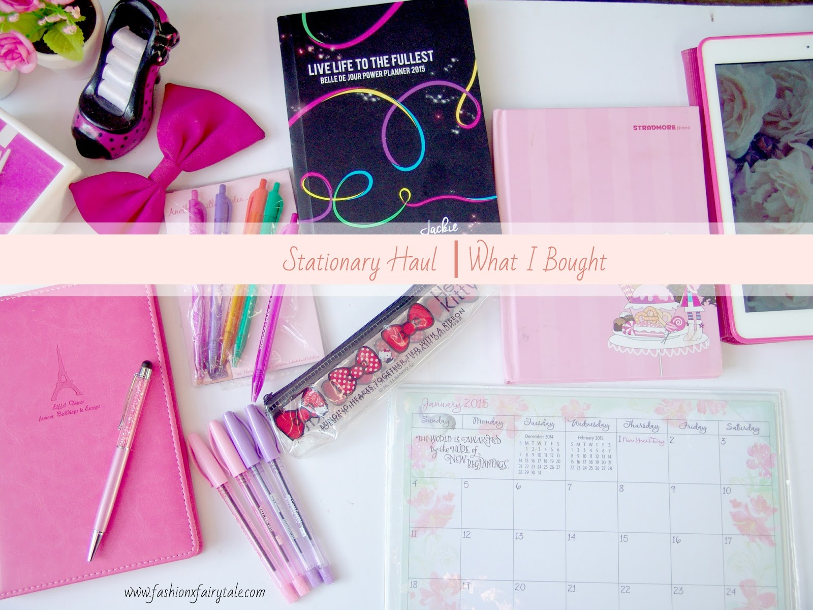 Stationary Haul | What I Bought