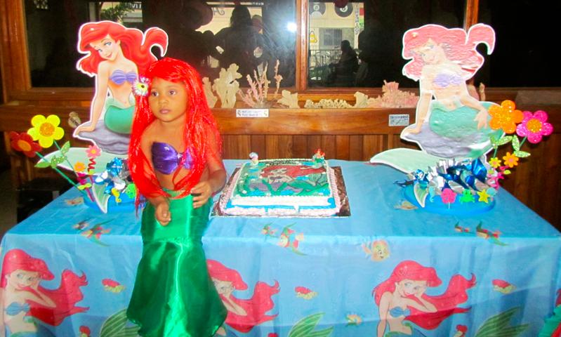 Decoración para fiestas de Ariel la sirenita - Imagui