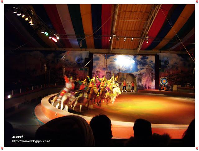 濟州島-蒙古馬術表演2