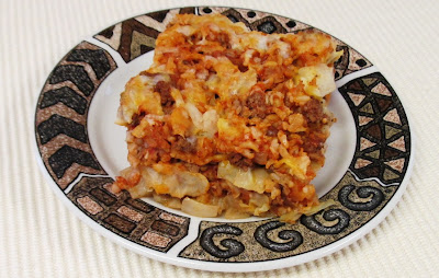 ... ... Healthy & Low Calorie: Deconstructed Stuffed Cabbage Casserole