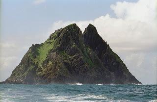 isla de skellig michael en Irlanda
