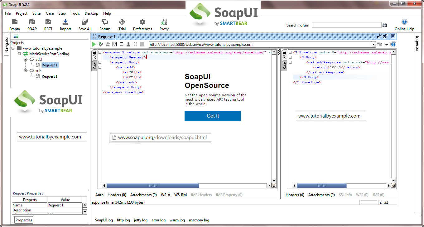 Tutorial by example how to install soapui x32 5 2 1 in windows 7 tutorial by example how to install soapui x32 5 2 1 in windows 7 32 bit os and new soap project test baditri Images