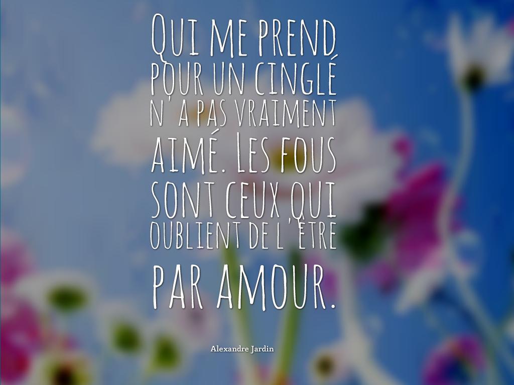 10 citation d 39 amour avec des belles images belle for Alexandre jardin citation
