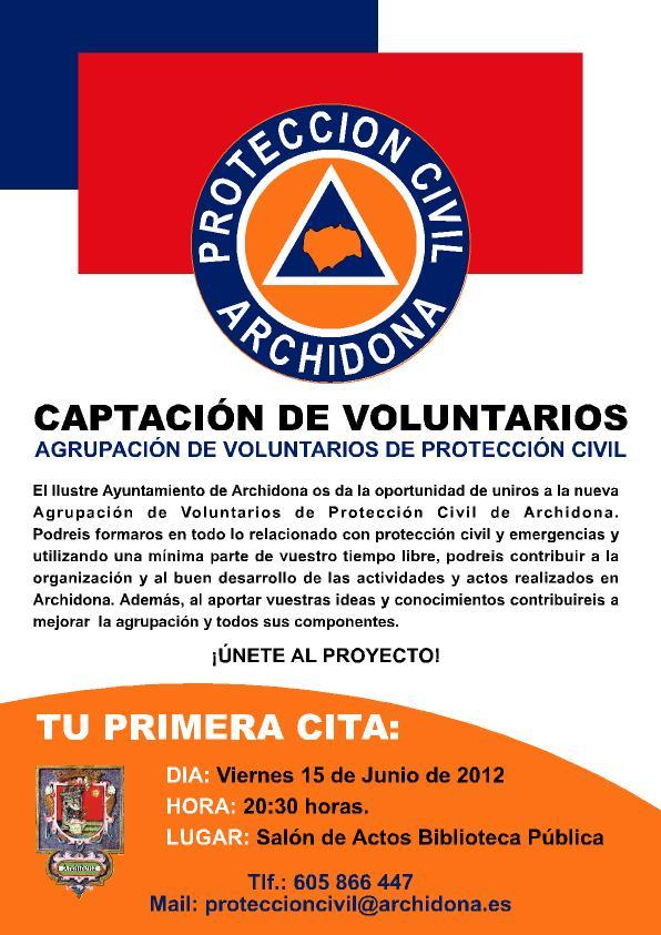 Protecci U00d3n Civil Archidona  Campa U00d1a De Captaci U00d3n De