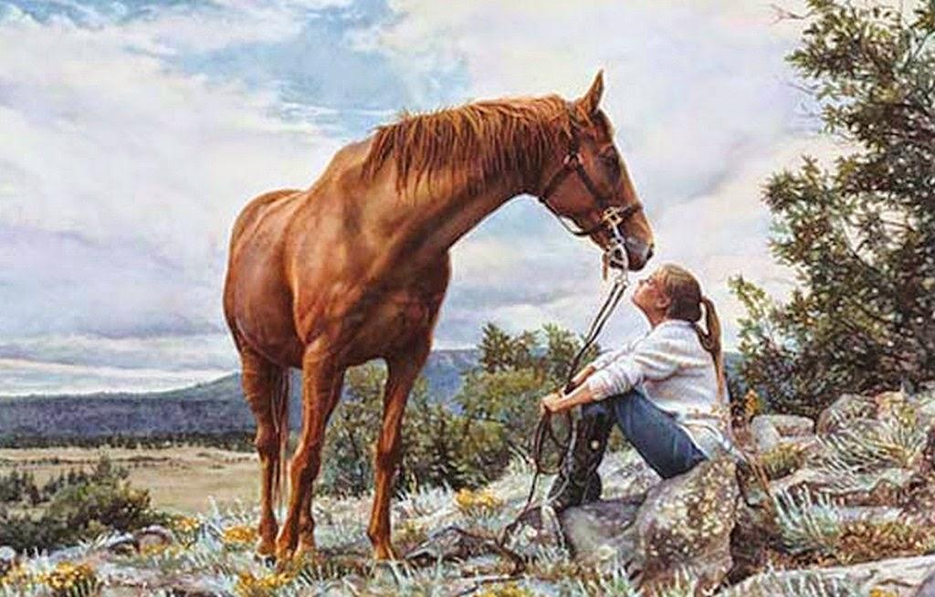 mujeres-y-caballos-pintados-con-acuarela