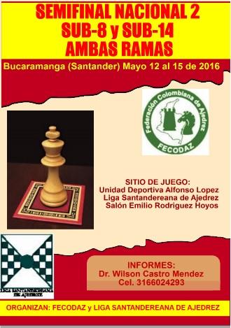 Semifinal 2 Sub-8 y Sub-14 Ambas Ramas 2016 (Dar clic a la imagen)