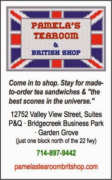 Pamela's Tearoom & Brit Shop