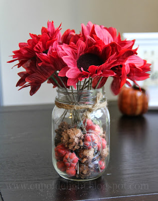 Fall Mason Jar