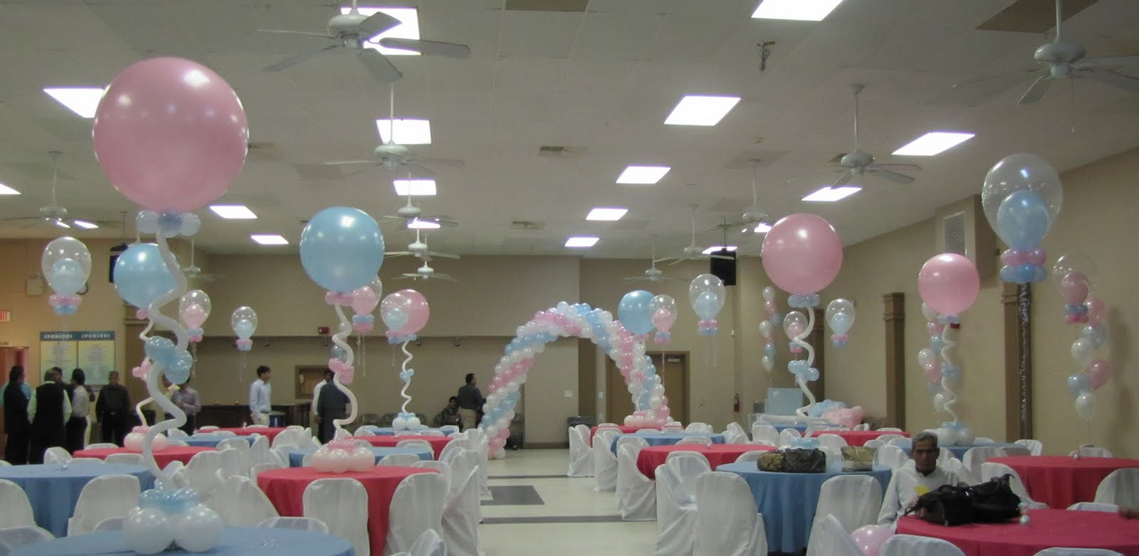 Party people event decorating company baby shower ocala fl for Balloon decoration company