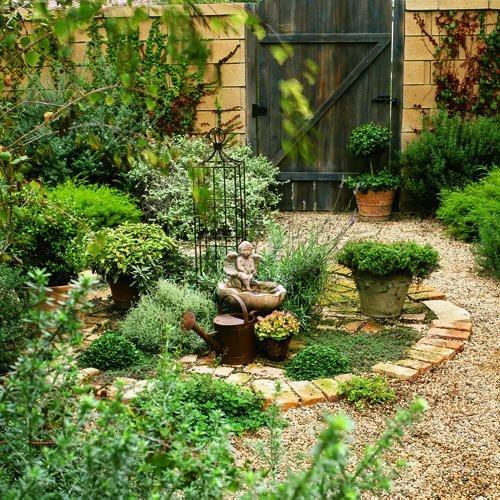 Estilo rustico los ultimos jardines rusticos for Jardin 00 garden