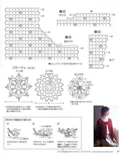 филейного вязания. Схемы