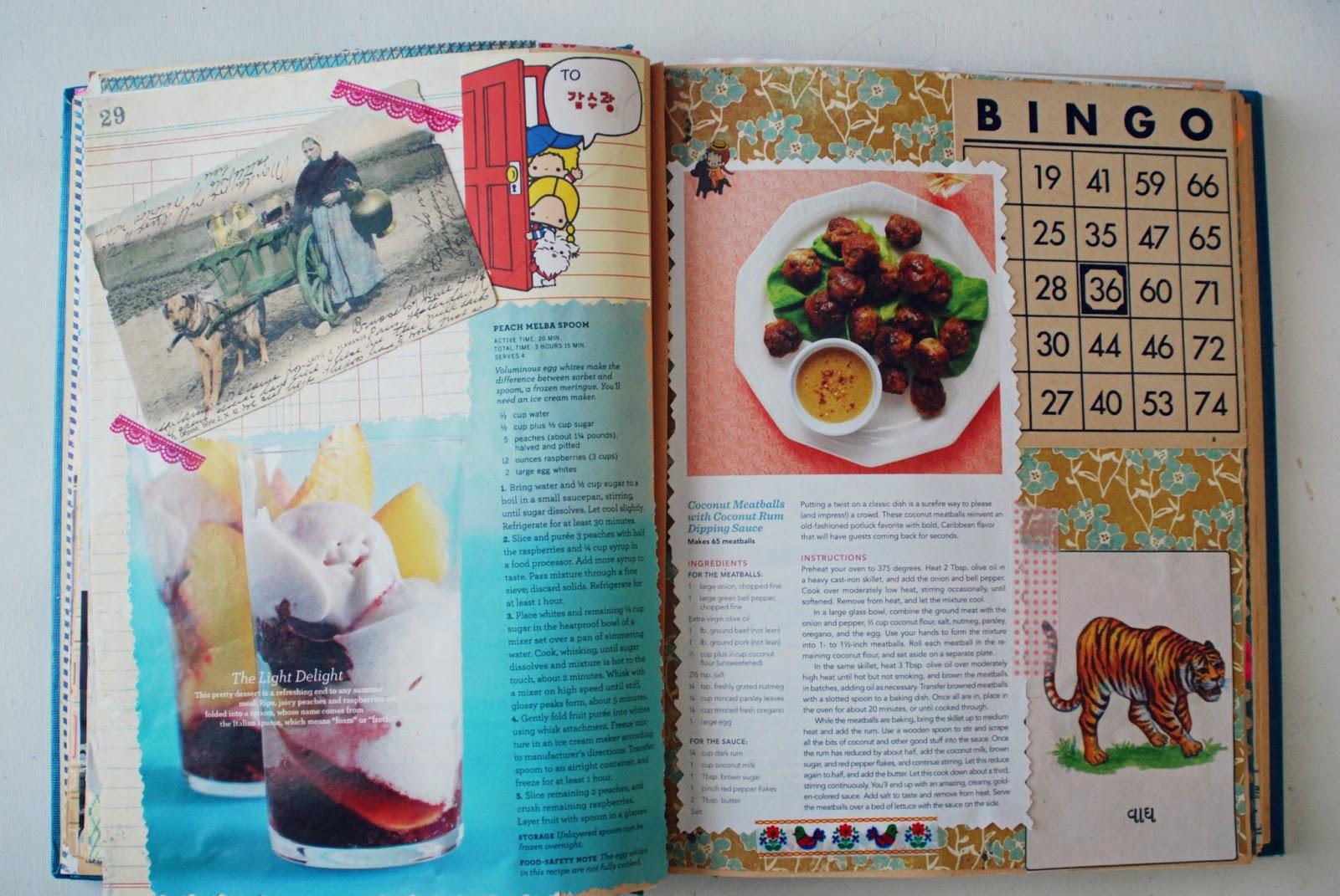 How to scrapbook a recipe book - How To Scrapbook A Recipe Book 50