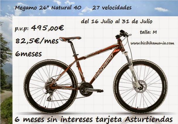 Promocion Megamo Natutal 40