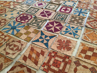 Dear Jane Quilt Update - 2015 New Year's Eve Edition