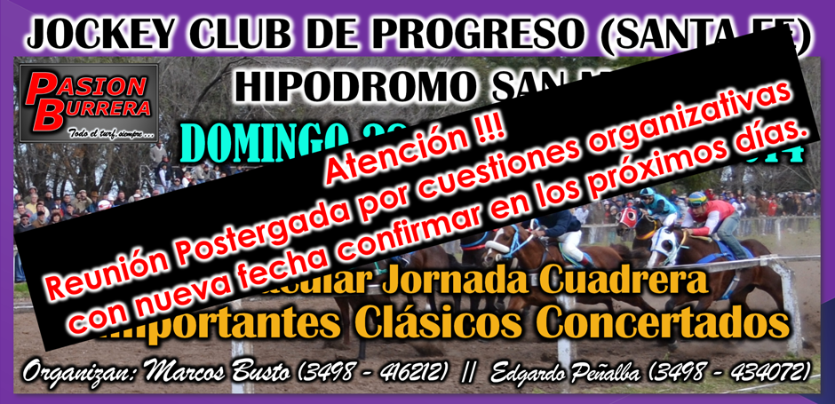 PROGRESO - SUSPENDIDO