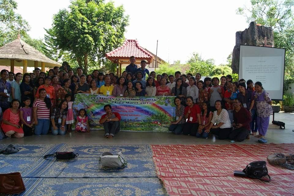 Bersama Pendamping BIAK Jambi (21-22 Maret 2015)