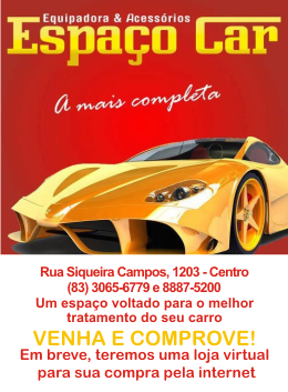 Espao Car - A mais completa