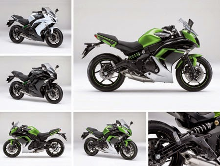 gambar motor kawasaki Ninja 400