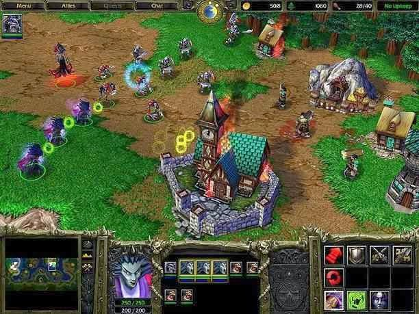 warcraft iii reign of chaos system requirements pc android