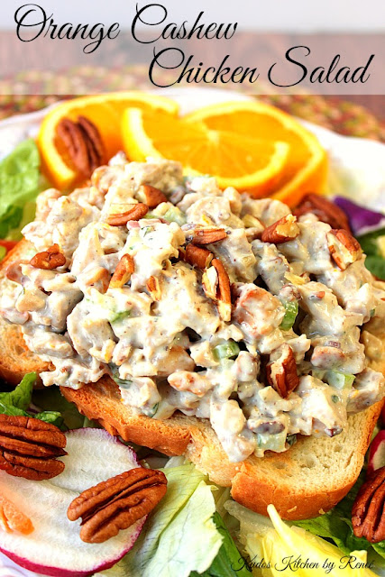 Orange Cashew Chicken Salad