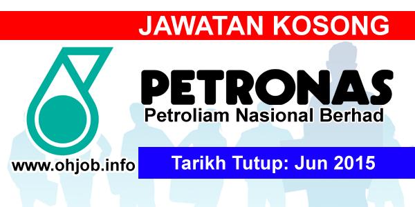 Jawatan Kerja Kosong Petroliam Nasional Berhad (PETRONAS) logo www.ohjob.info jun 2015
