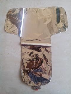 Balon Foil Huruf T Warna Silver