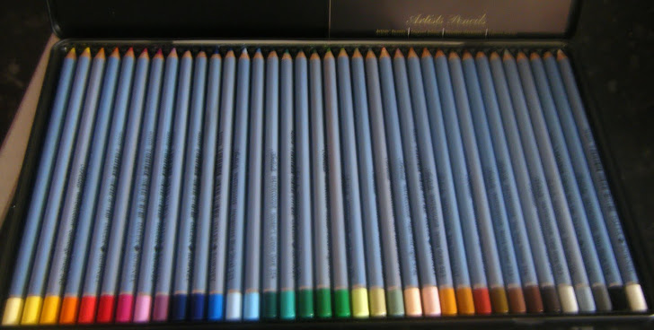 Daler Rowney artists watercolour pencils