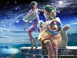 Aries Signs of the Zodiac wallpaper
