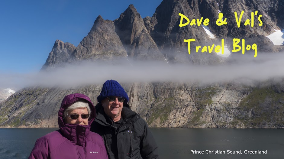 Dave and Val's Travel Blog