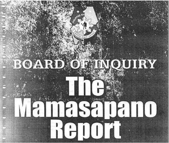 Mamasapano Report