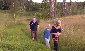 Summer hike outside Marbäck (Ulricehamn)