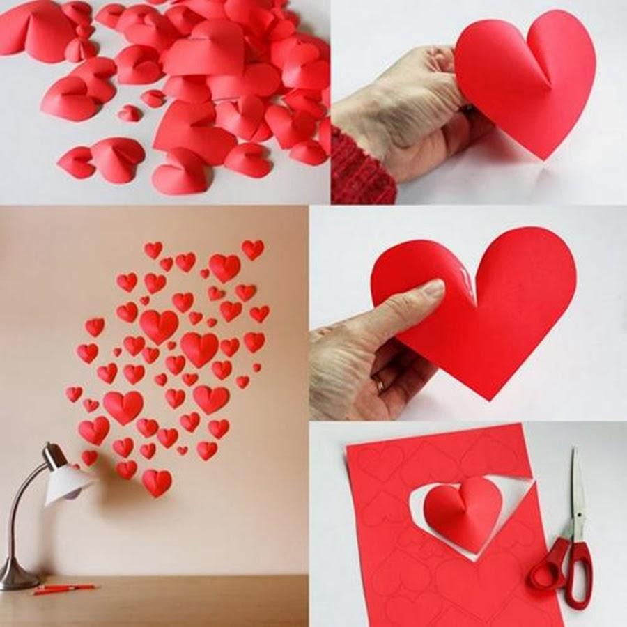 Per(feito) pra mim Decoração de quarto (Coraçõezinhos) ~ Quarto Romantico Para Namorado