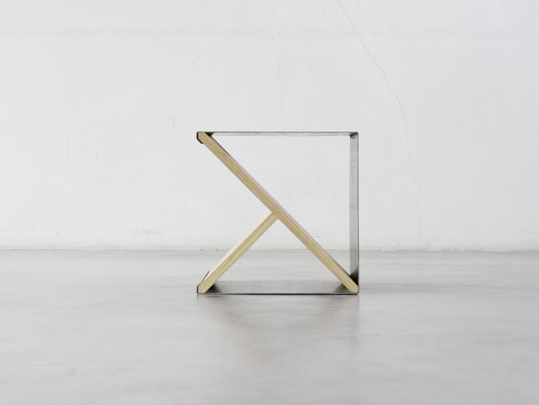 Perfect Noon Studio Have Designed A Portable Stool.The Stool Was Made Of A Simple  Metal Steel Supported By The Minimally Designed Wooden Y Frame Which Can Be  ... Design Inspirations
