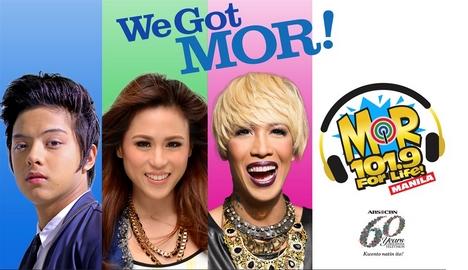 M.O.R. 101.9 For Life! Manila: Daniel Padilla, Toni Gonzaga, Vice Ganda