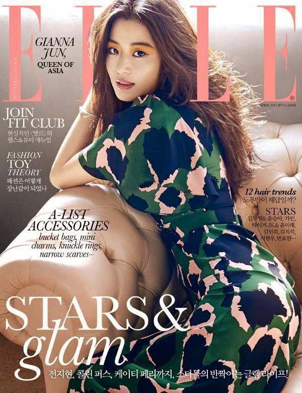 jun ji hyun, elle, korea, malaysia, mei, cantik, majalah
