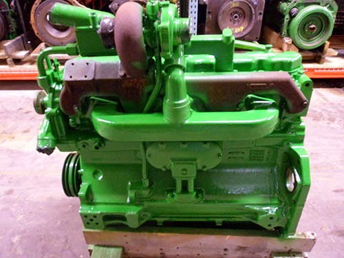 used john deere diesel engine