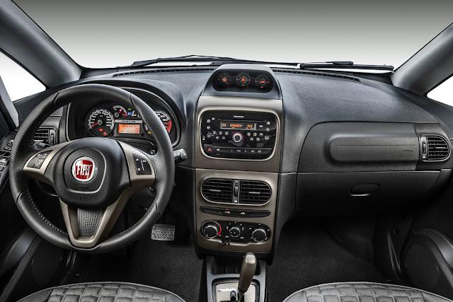 Fiat Idea Adventure 2016 - painel
