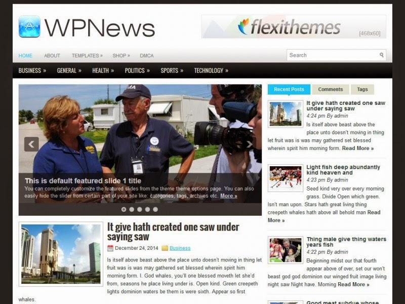 WPNews - Free Wordpress Theme