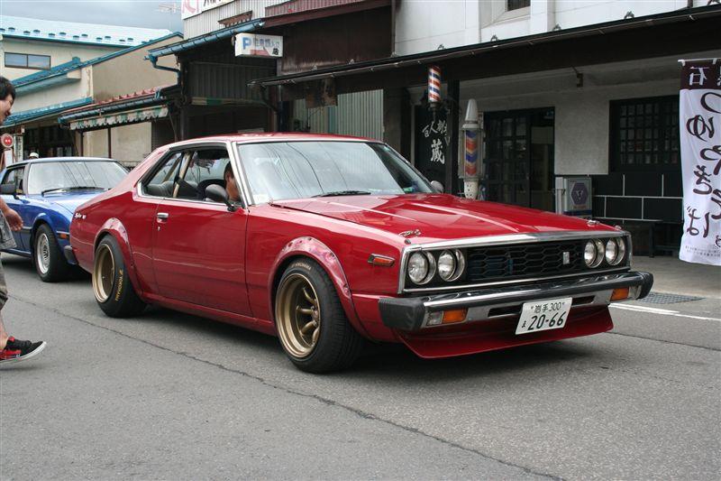 Nissan Skyline C210  stary japoński samochód, klasyk, oldschool, 日本車, クラシックカー