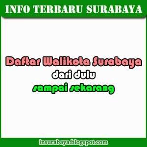 Daftar Walikota Surabaya