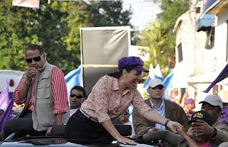 Apedrean caravana de Margarita en Bonao