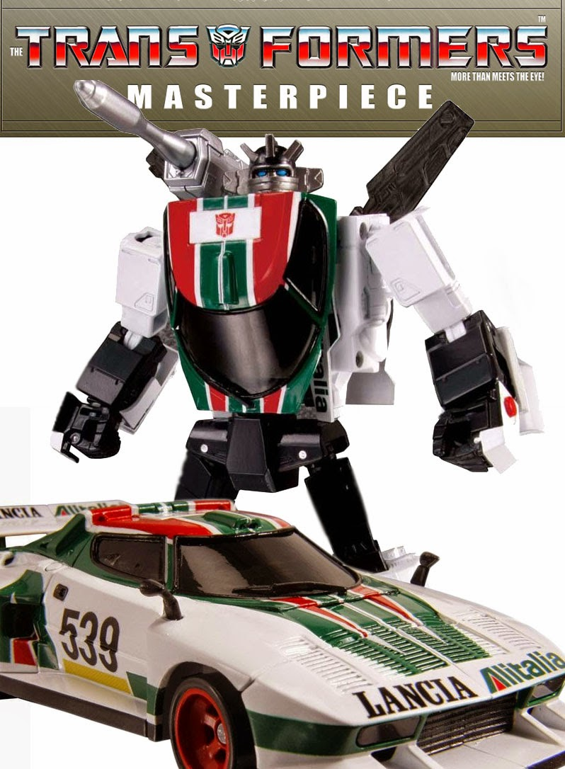 Wheeljack Transformers MP-20 recensione