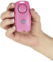 Personal alarm for women, senior citizens and the handicapped.